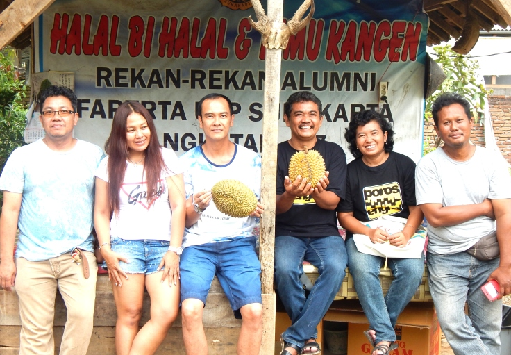 bibit durian biz pengunjung